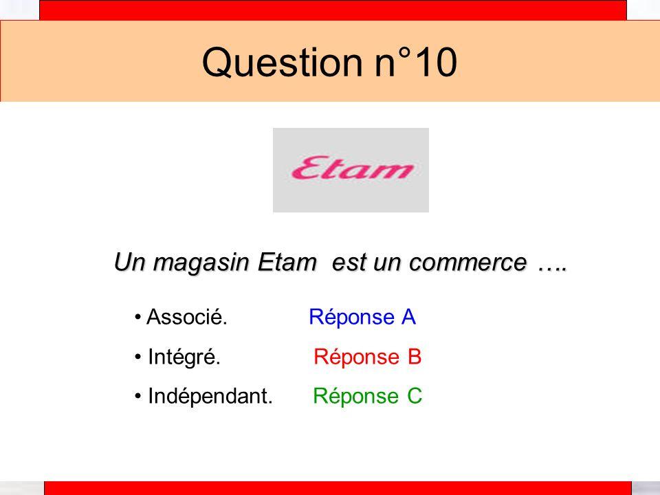 Un magasin Etam est un commerce ….