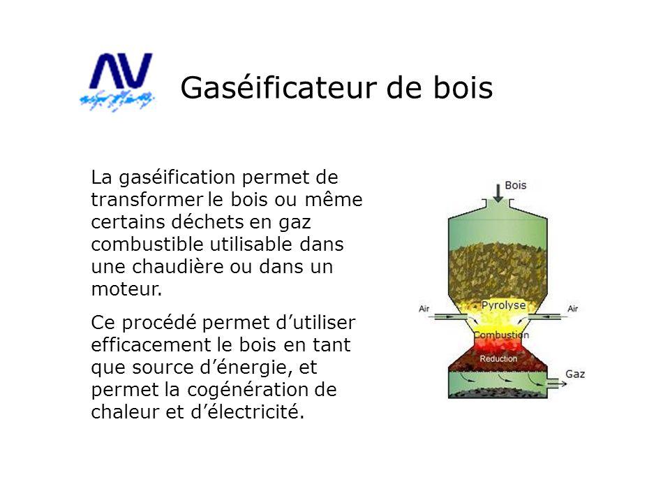 Gaséificateur de bois