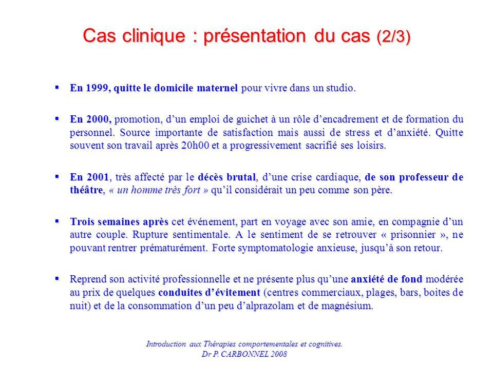 Cas clinique : présentation du cas (2/3)