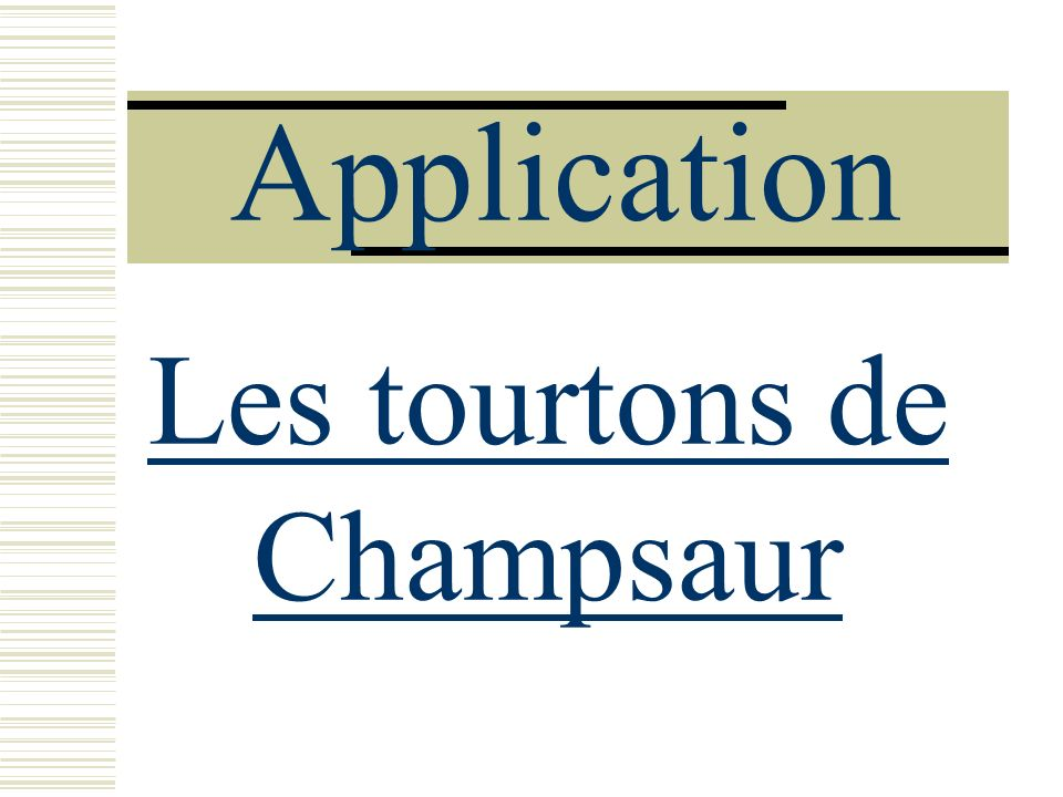 Les tourtons de Champsaur