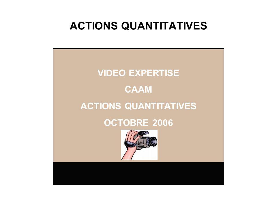 ACTIONS QUANTITATIVES