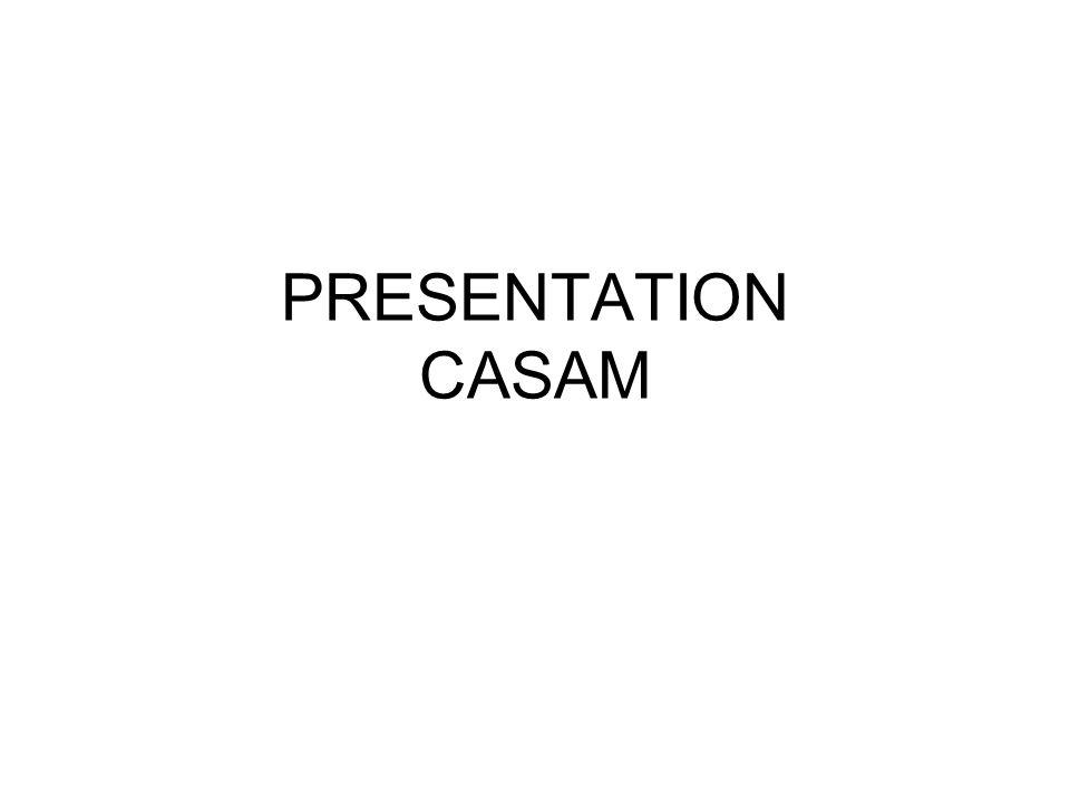 PRESENTATION CASAM