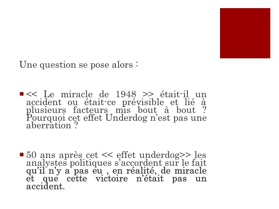 Une question se pose alors :