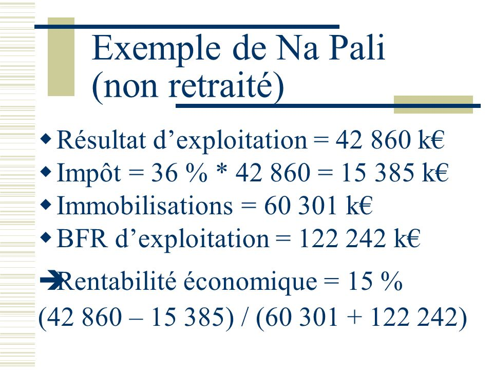 Exemple de Na Pali (non retraité)