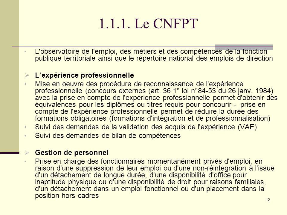 Le statut de la fonction publique territoriale ppt - Disponibilite d office pour raison de sante ...