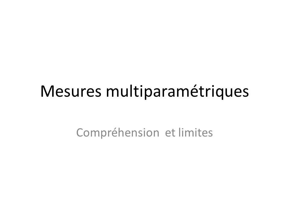 Mesures multiparamétriques
