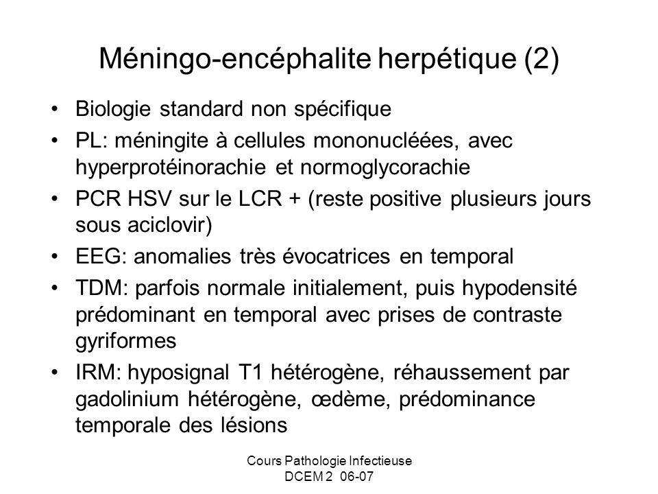 Méningo-encéphalite herpétique (2)