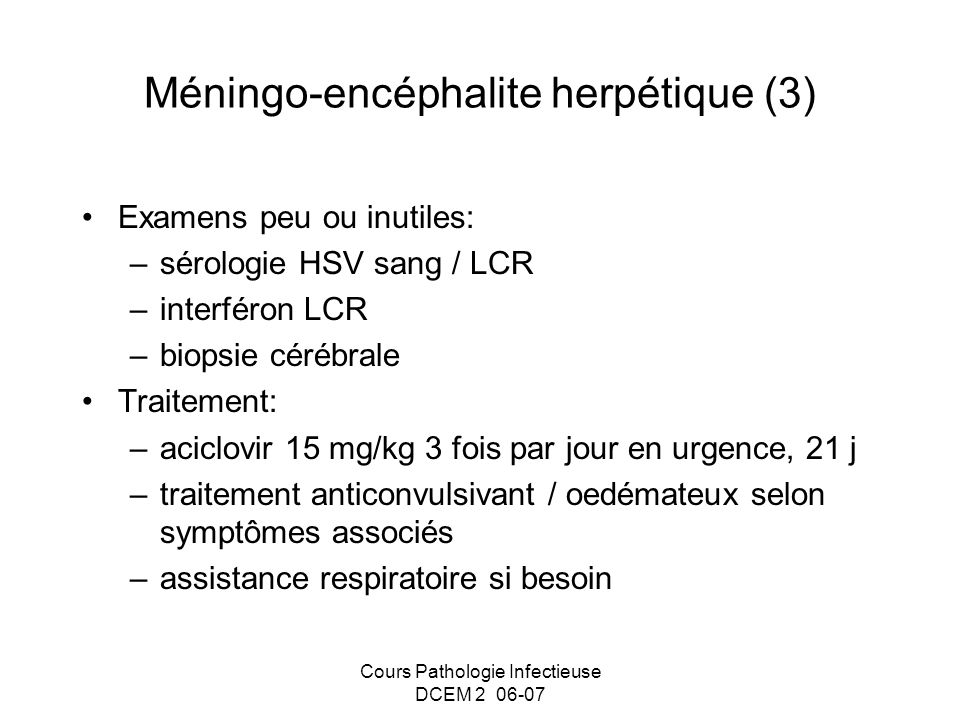 Méningo-encéphalite herpétique (3)