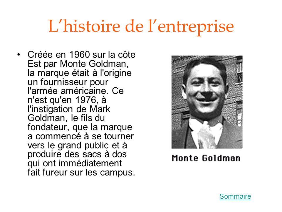 L'histoire de l'entreprise