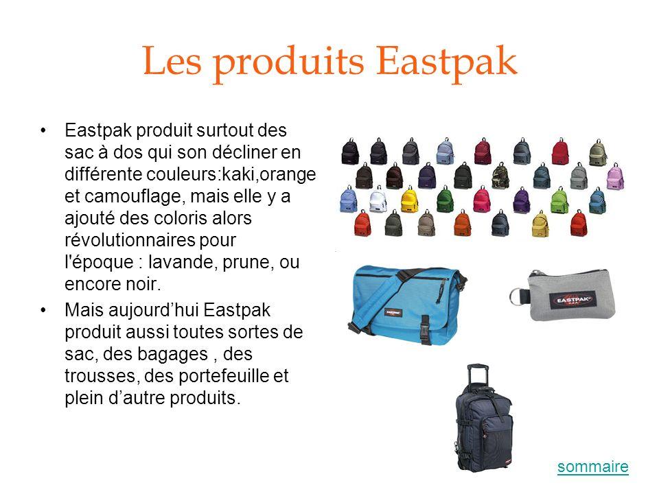 Les produits Eastpak