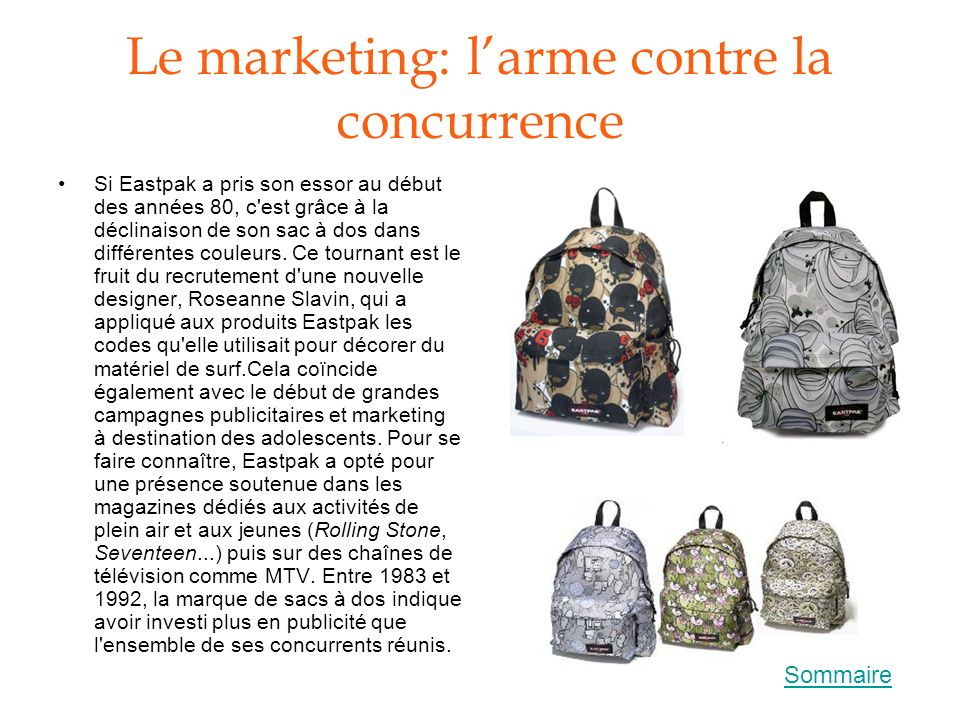 Le marketing: l'arme contre la concurrence