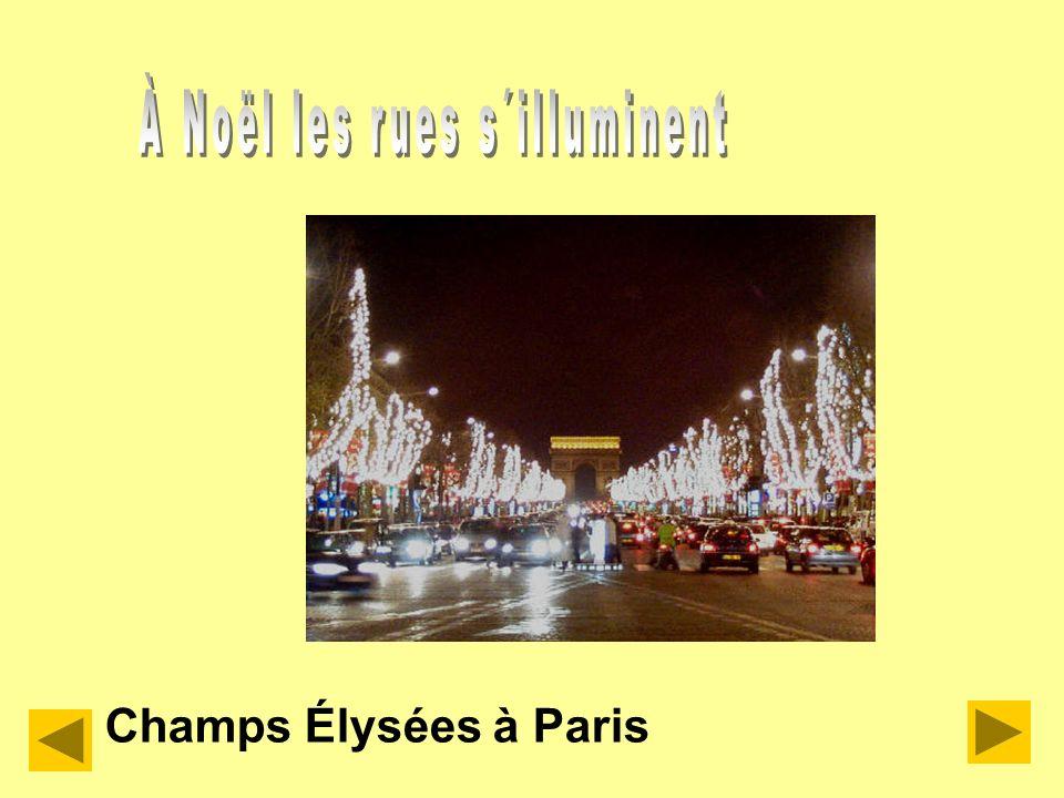 À Noël les rues s´illuminent