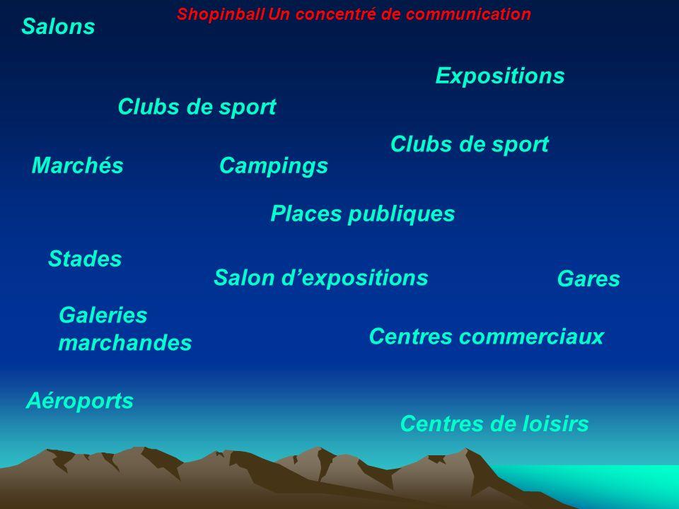 Gares Centres de loisirs Salons Expositions Clubs de sport