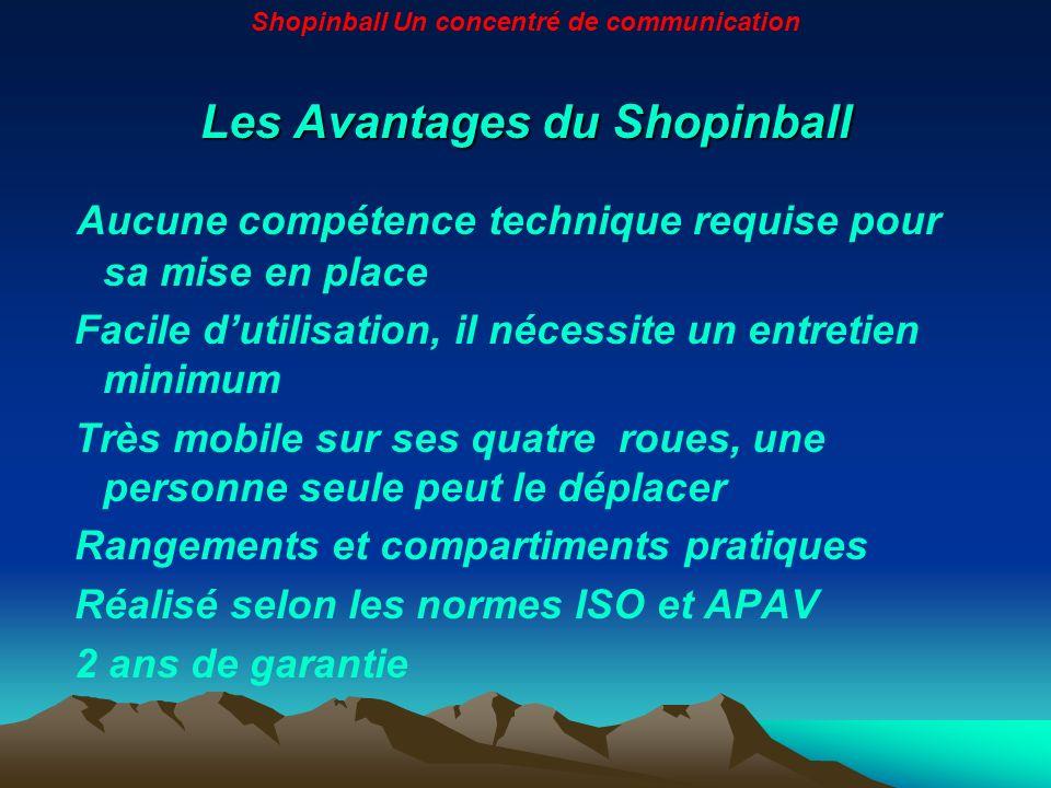 Les Avantages du Shopinball