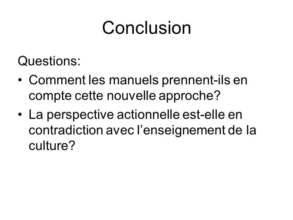 Conclusion Questions: