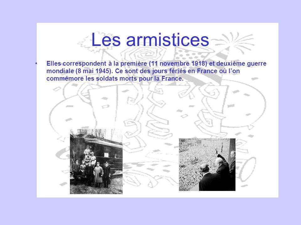 Les armistices
