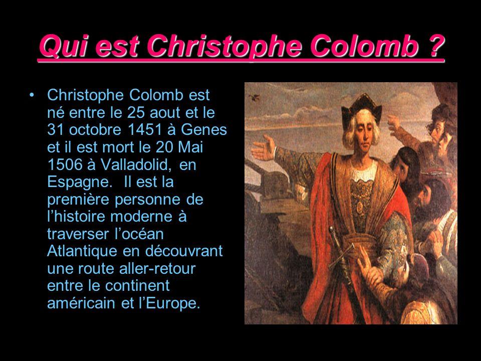 Qui est Christophe Colomb