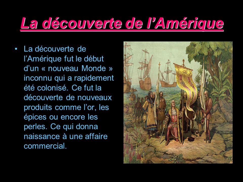 La découverte de l'Amérique