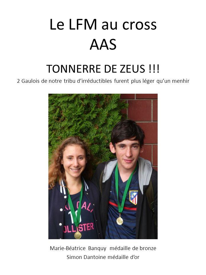 Le LFM au cross AAS TONNERRE DE ZEUS !!!