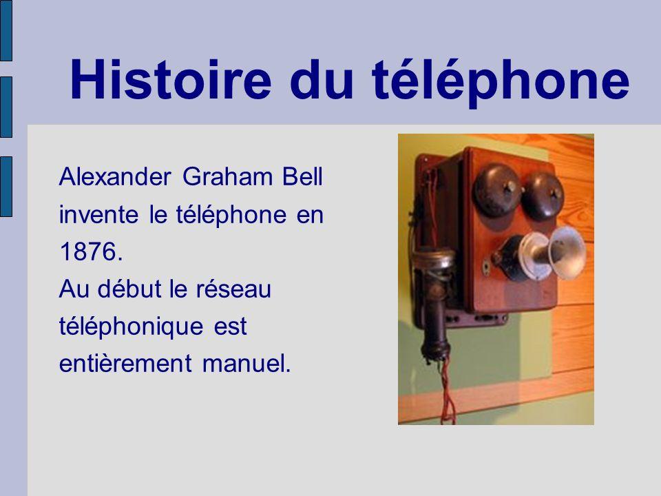 Histoire du téléphone Alexander Graham Bell invente le téléphone en