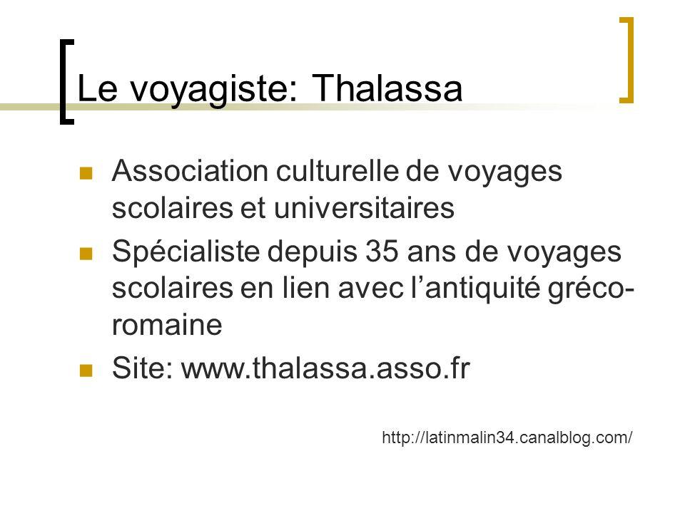 Le voyagiste: Thalassa