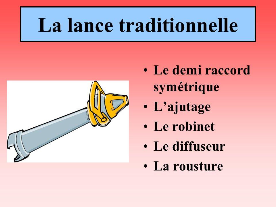 La lance traditionnelle