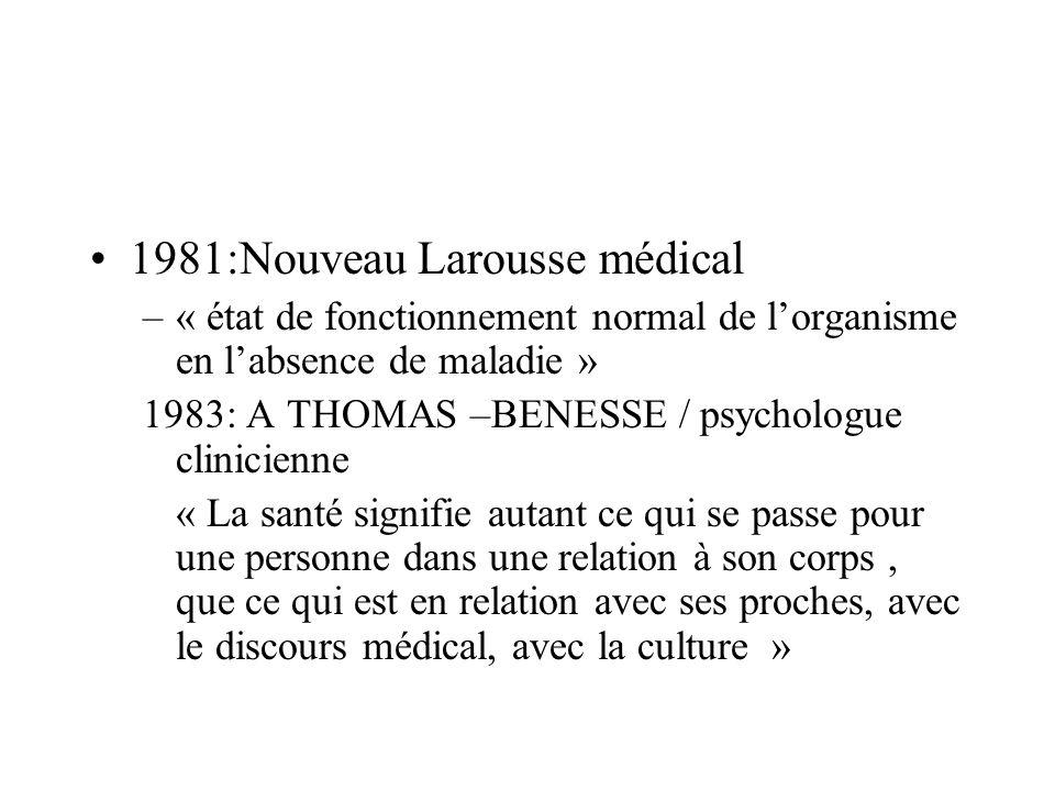 1981:Nouveau Larousse médical