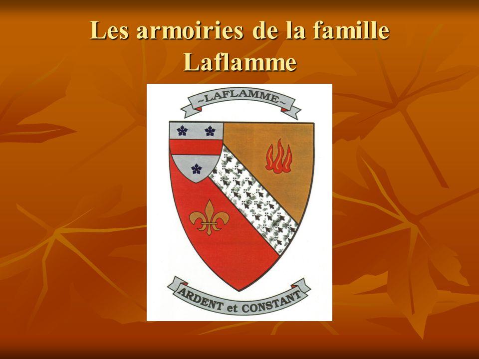 Les armoiries de la famille Laflamme