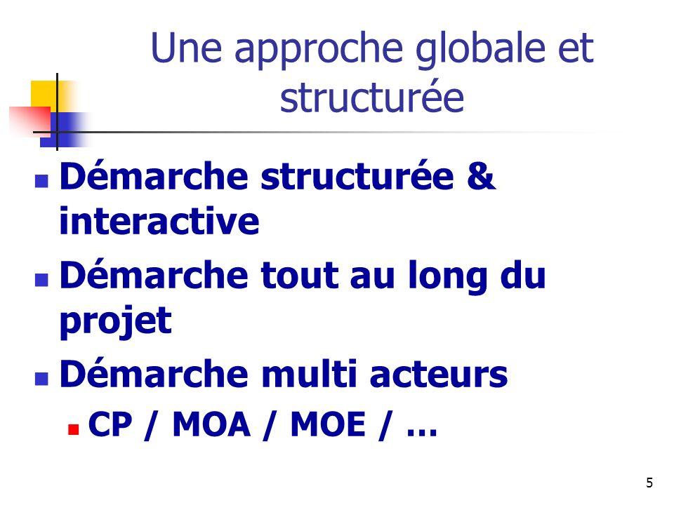 Une approche globale et structurée