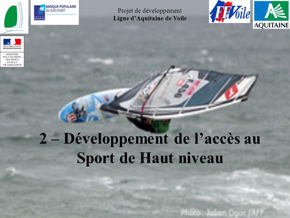 2 – Développement de l'accès au Sport de Haut niveau