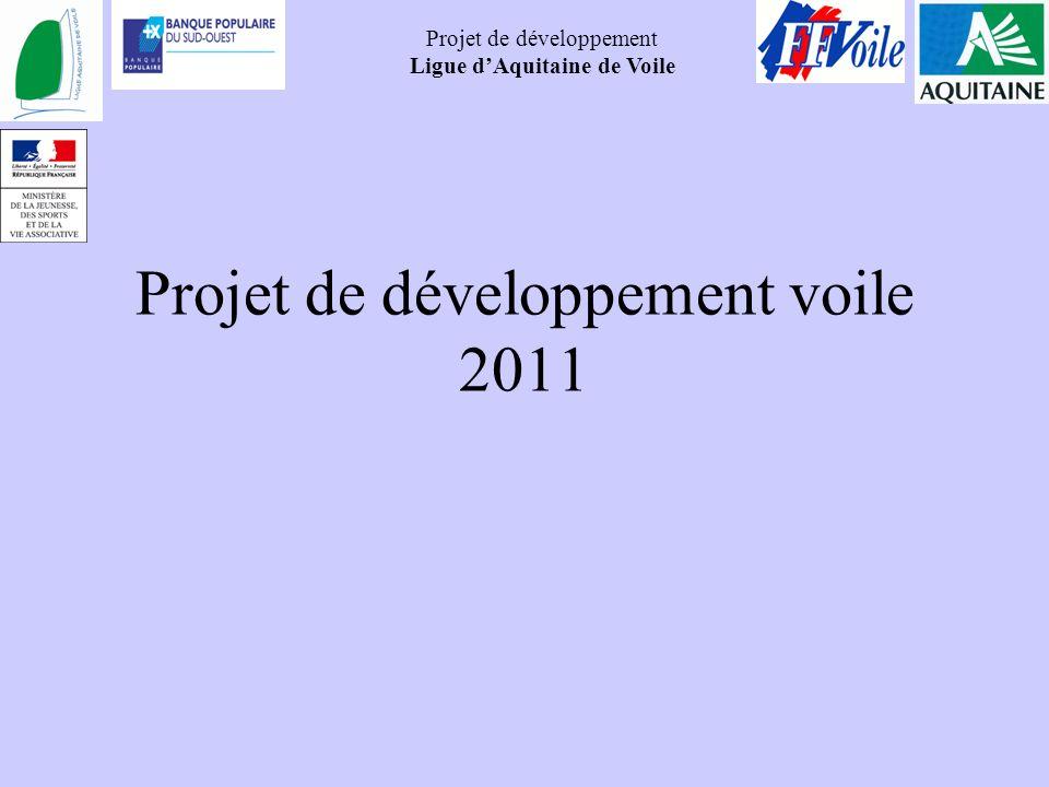 Projet de développement voile 2011