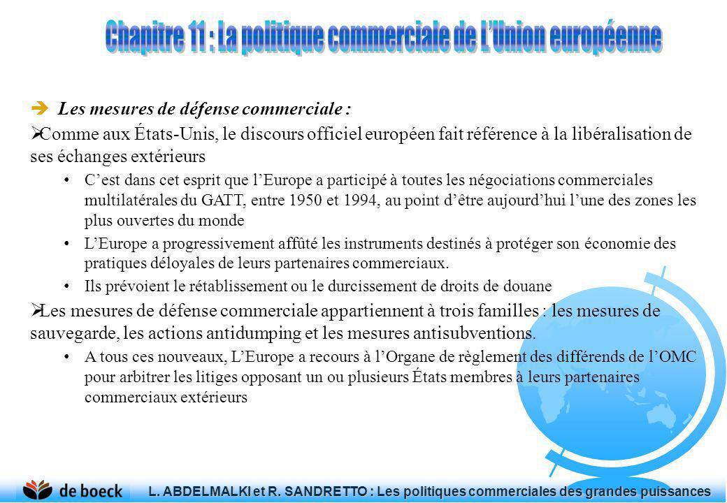 Chapitre 11 : La politique commerciale de L'Union européenne