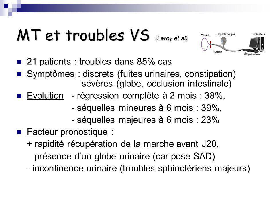 MT et troubles VS (Leroy et al)