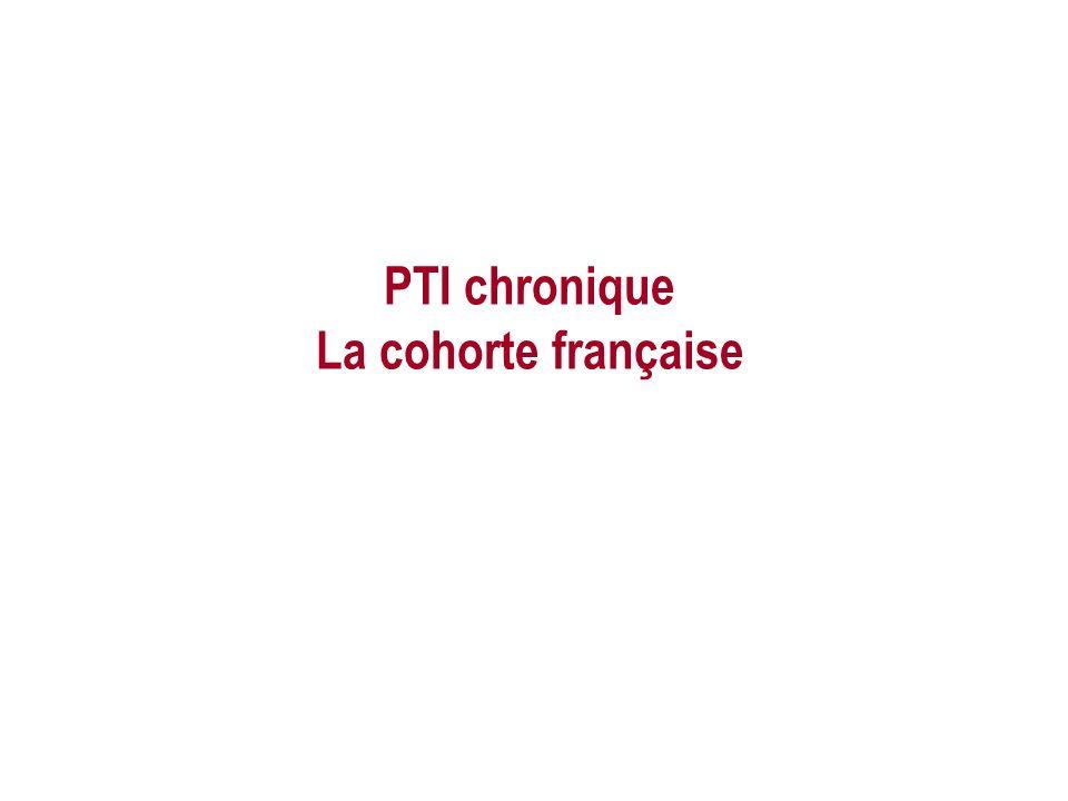 PTI chronique La cohorte française