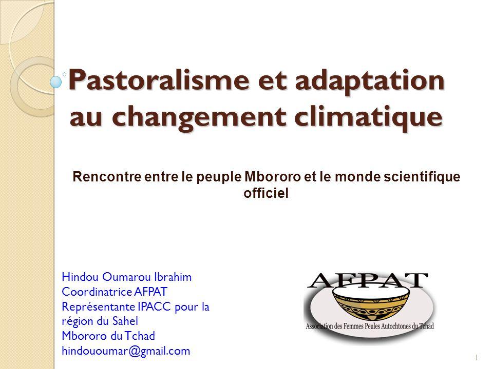 Pastoralisme et adaptation au changement climatique