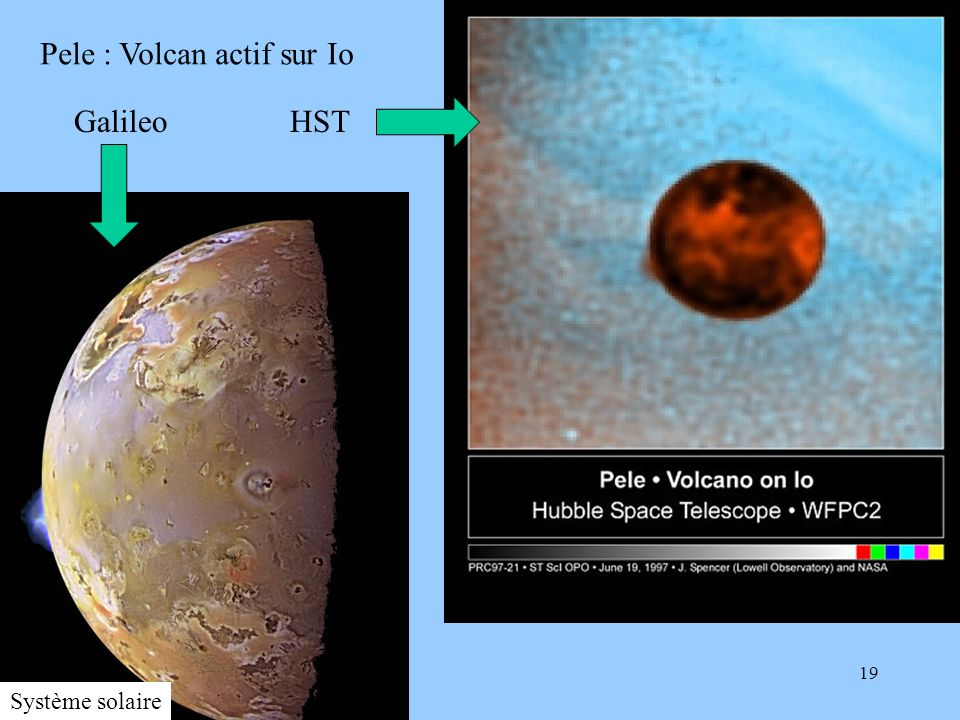 Pele : Volcan actif sur Io