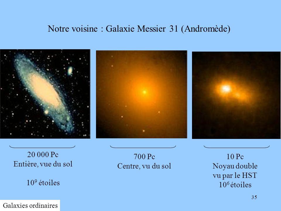Notre voisine : Galaxie Messier 31 (Andromède)