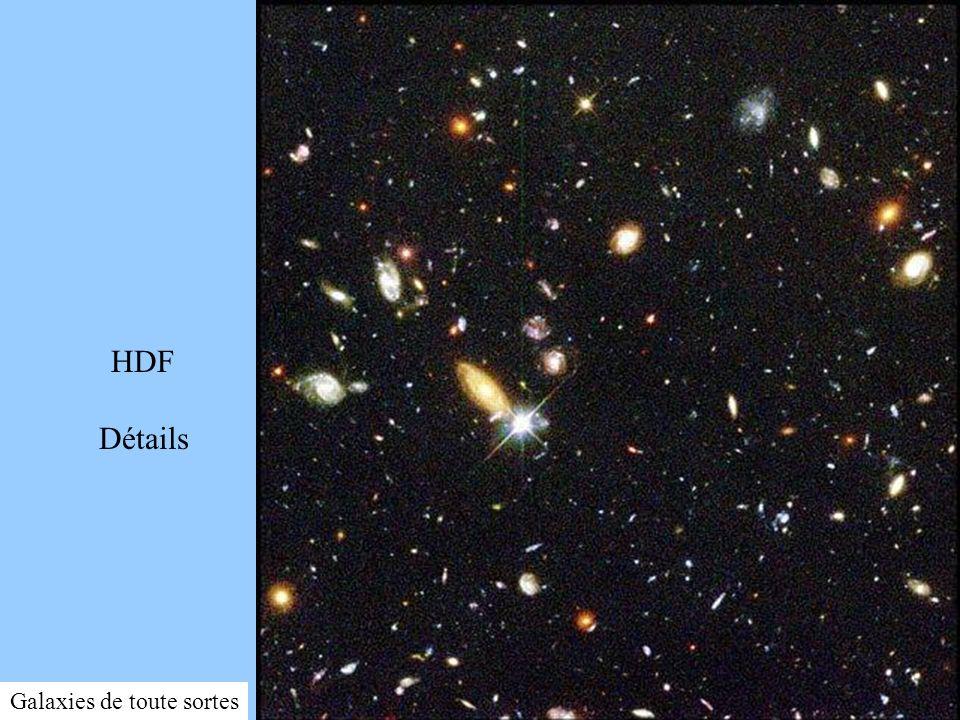 HDF Détails HDFWF3.jpg Galaxies de toute sortes