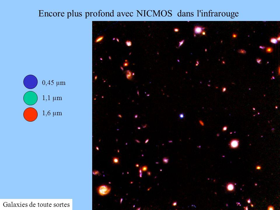 Encore plus profond avec NICMOS dans l infrarouge