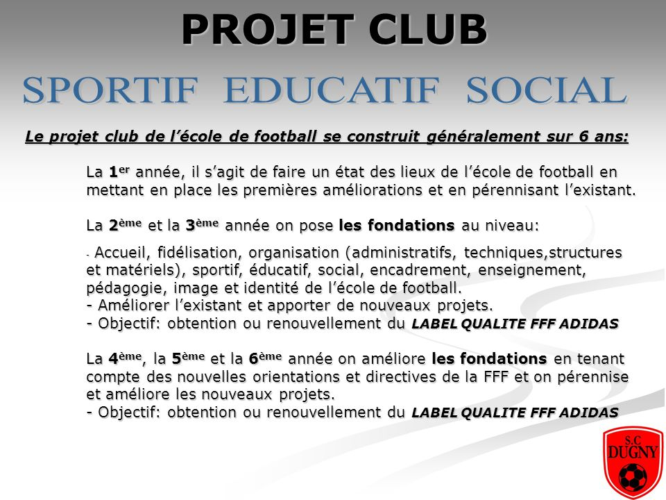 SPORTIF EDUCATIF SOCIAL