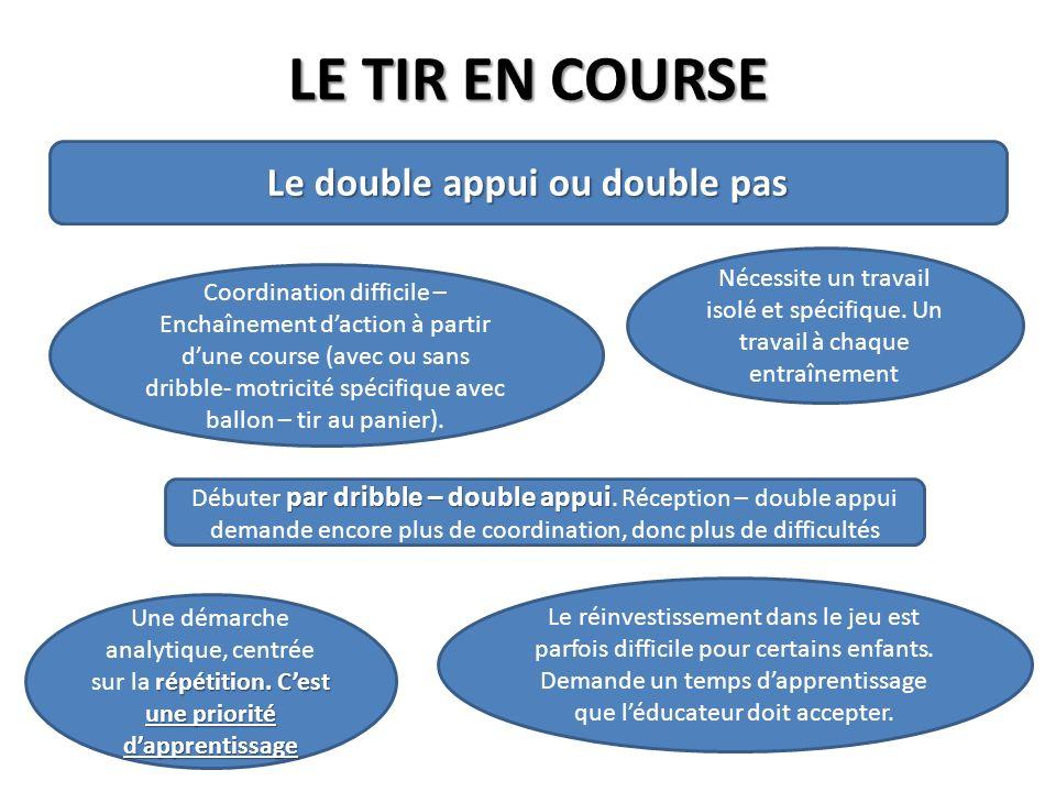 Le double appui ou double pas