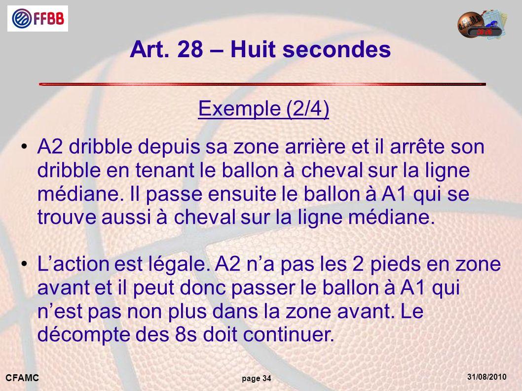 Art. 28 – Huit secondes Exemple (2/4)
