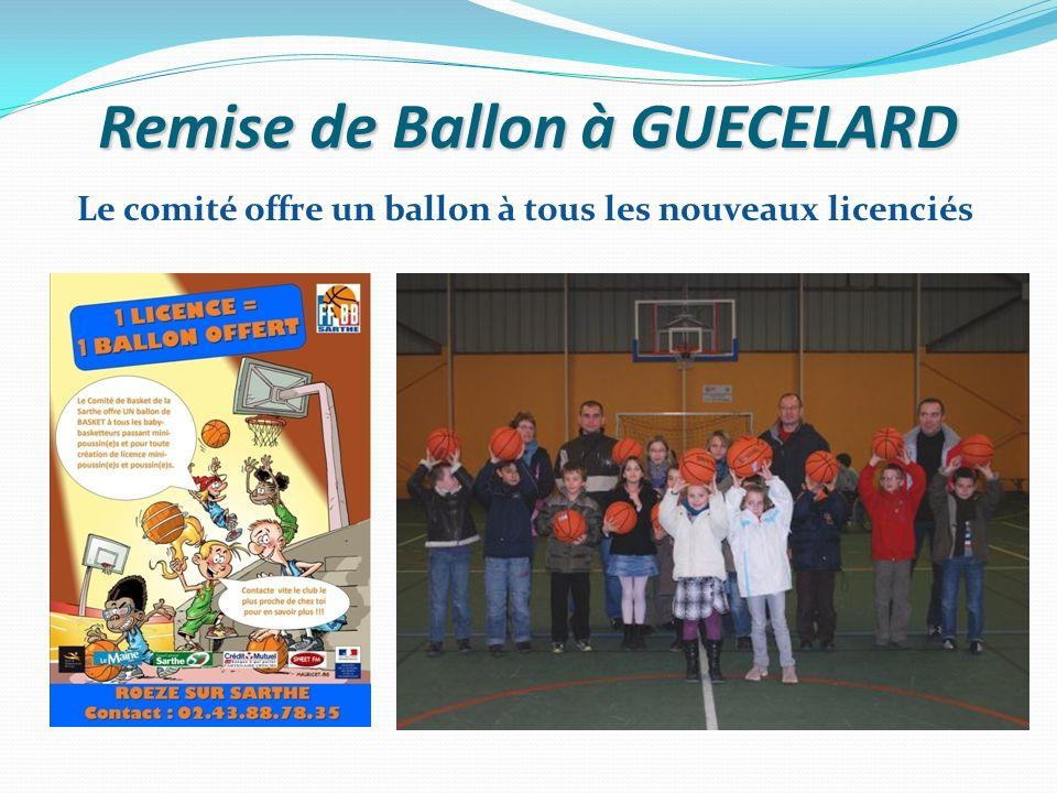 Remise de Ballon à GUECELARD