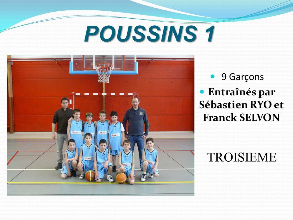 Entraînés par Sébastien RYO et Franck SELVON