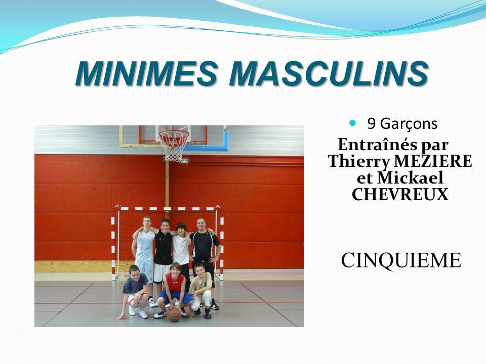 Entraînés par Thierry MEZIERE et Mickael CHEVREUX