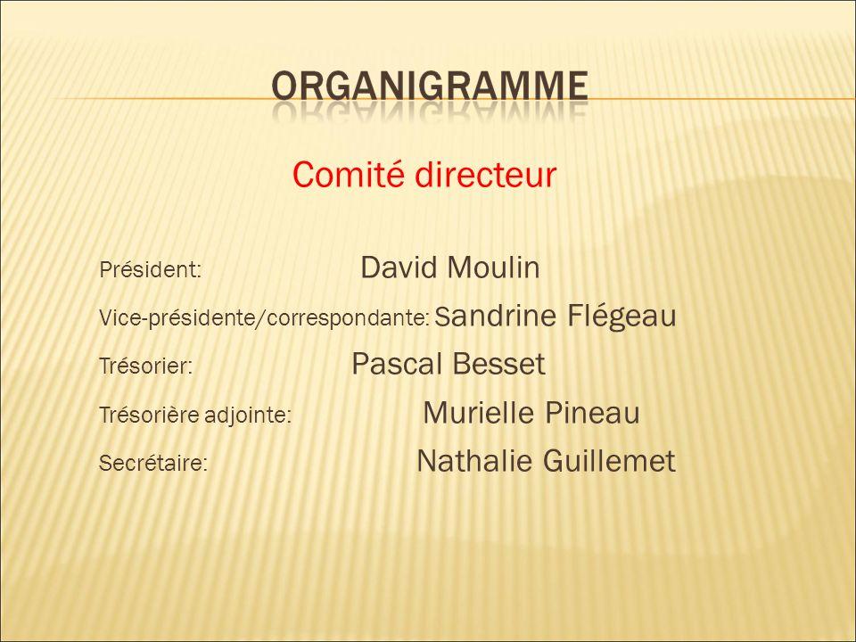 Comité directeur Président: David Moulin