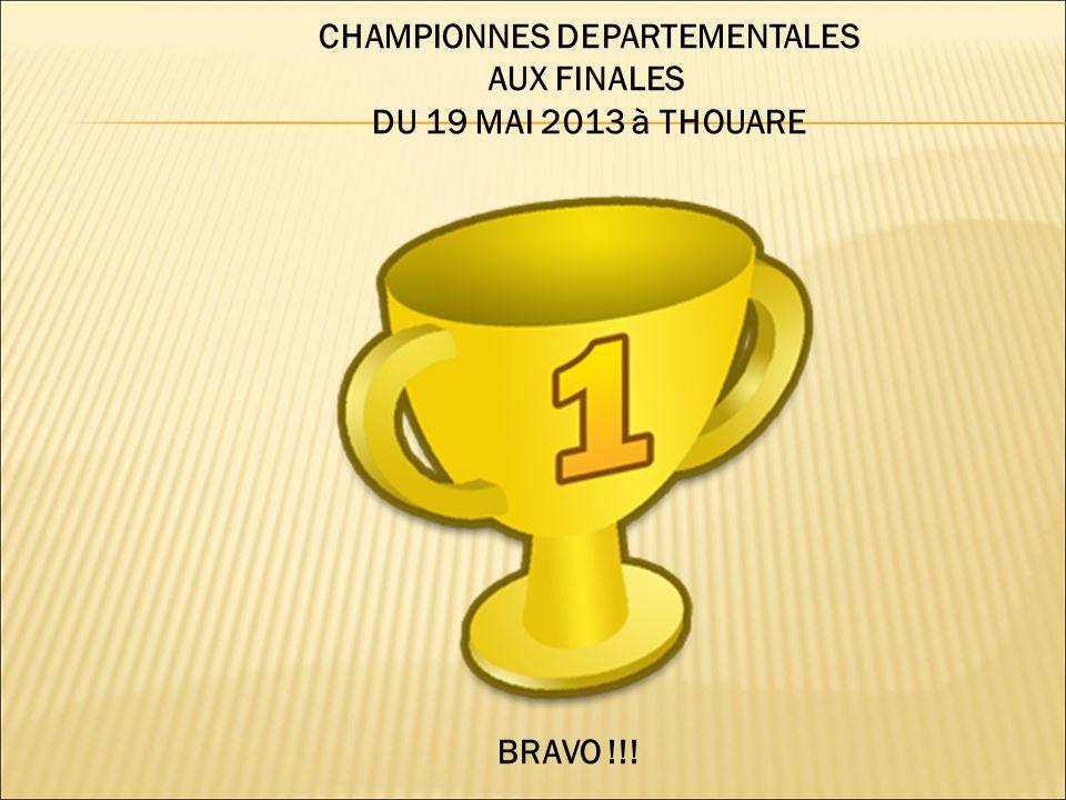 CHAMPIONNES DEPARTEMENTALES