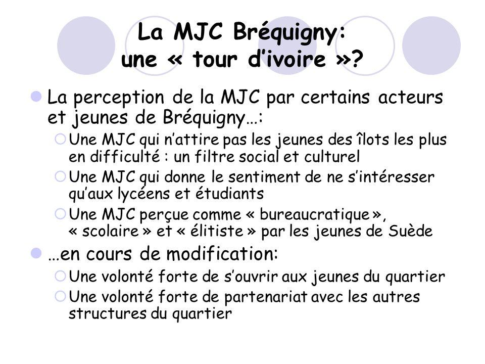 La MJC Bréquigny: une « tour d'ivoire »