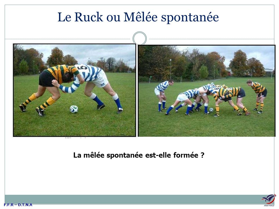 Le Ruck ou Mêlée spontanée