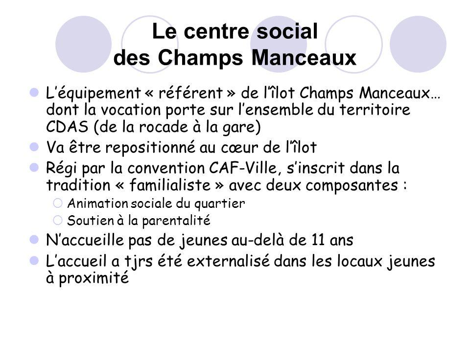 Le centre social des Champs Manceaux